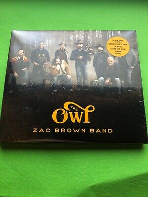 Zac Brown Band - The Owl - Brand New Sealed CD FAST FREE SHIPPING