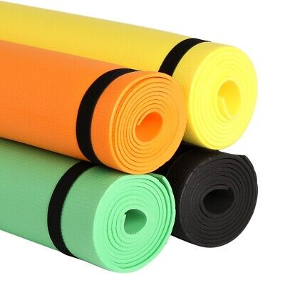 Yoga Mat Thick Large Foam Exercise Gym Fitness for Pilates Meditation Tops HOT