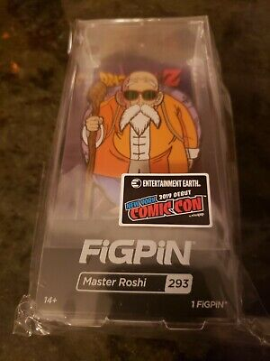 Nycc 2019 Ee Figpin Dragon Ball Z - Master Roshi Figpin #293 Dbz