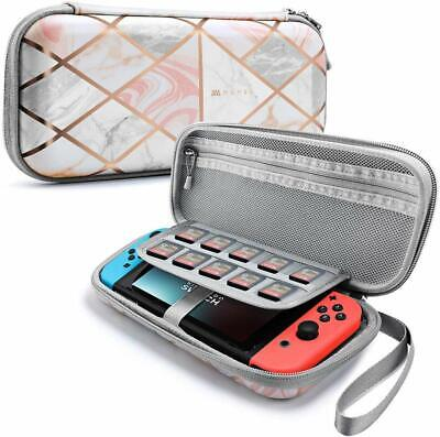 For Nintendo Switch Mumba Slim Hard Shell Travel Carrying Case Girl's Pouch Bag