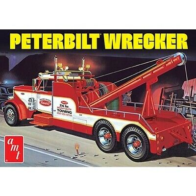 AMT 1133 1/25 Peterbilt 359 Wrecker Model Kit (2019) AMT