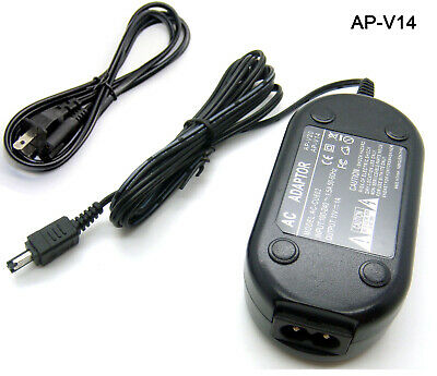 HQRP AC Adapter//Charger Compatible with JVC AP-V14 AP-V15 AP-V16 GZ-MG630A GZ-MG21U GR-D72U GZ-MG27U GR-D93U GR-D371US GR-D375US GR-D395US GR-AX890US GR-D230US GZ-MS100 GR-AXM17U GR-AXM18U Camcorder
