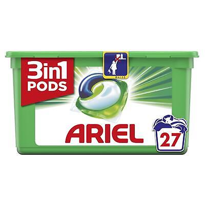 Ariel 3-in-1 Washing Pods Original Laundry Detegent Liquid Capsules - 27 Washes