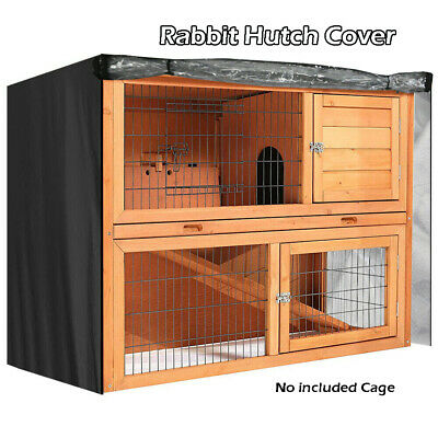 4FT Waterproof Pig Deluxe Pet Covers Large Double Rabbit Hutch Cover Guinea UK