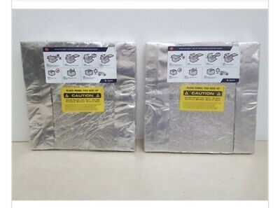 2 Kevothermal CR12AVP1EC R-A Vacuum Insulation Panels 321mmX321mm W/freezer Can