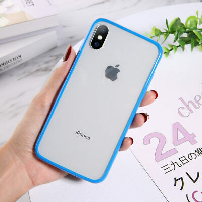 For iPhone 11 Slim Shockproof Soft Silicone Transparent TPU Case Clear Cover
