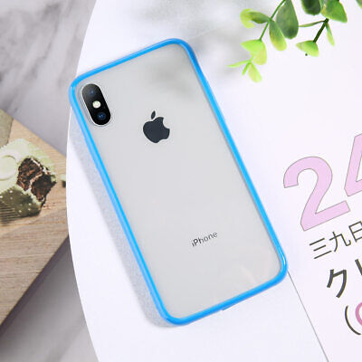 For iPhone 11 Pro Shockproof Soft Silicone Transparent TPU Case Clear Cover Thin