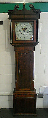 Vintage - Antique 19th Century Longcase / Grandfather Clock -Pattison Of Halifax