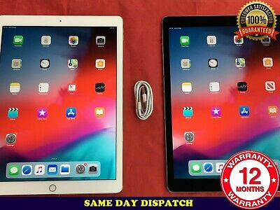 "Apple iPad Pro 2nd Gen 12.9"" 64GB 256GB 512GB WiFi 4G Unlocked iOS 13 Read MAIN"