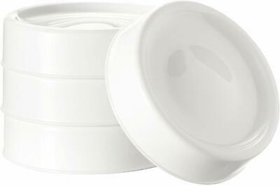Tommee Tippee Closer To Nature Milk Storage Bottle Lids Cap Caps Pack 4 Baby UK