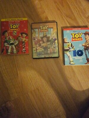 Toy Story Trilogy New DVD Set Free Shipping US Seller 1 2 3