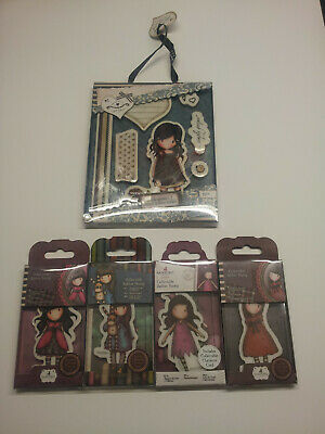 Santoro Gorjuss Rubber Stamps Lot of 12.New with collector cards.Docraft