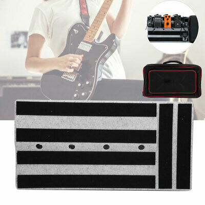 Portable Pedalboards Effects Pedal Board Cases with Bag Electric Music Guitar