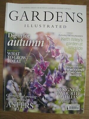 Gardens Illustrated October 2019 Only £5.50!!!!!! + Free P&P