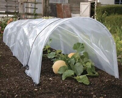 3M LARGE POLY Garden Cloche Tunnel Long Grow Plant Cover Protection Protector