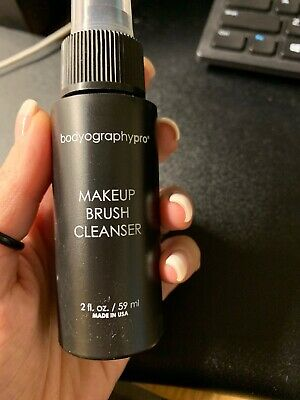 Bodyography Pro Makeup Brush Cleanser Disinfectant Condition NEW