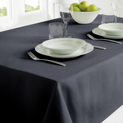 Country Club Table Cloth 130 x 228 Black Party Table Decoration Xmas Home Style