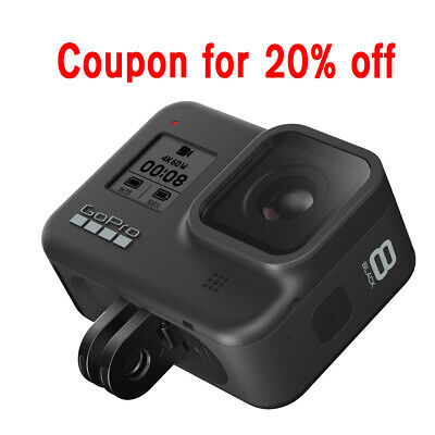NEW GoPro Hero 8 Black Coupon code for 20% OFF