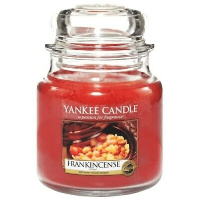 150hr 900g FRANKINCENSE /& WILD BERRIES Triple Scent SOY JAR CANDLE with SNUFFER