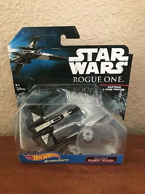 Hot Wheels Star Wars Partisan X-Wing Fighter Rogue One Starship