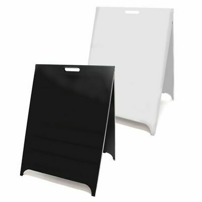 Customised Budget Metal Pavement Sign. Magnetic A-Board. A Frame. Metal A Board.