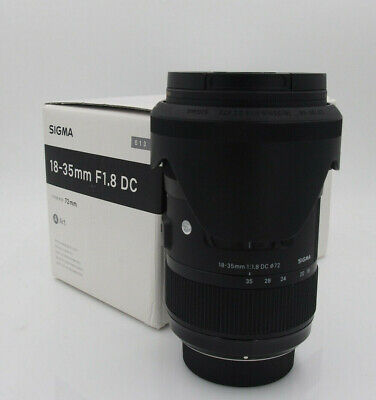 Sigma 18-35mm f/1.8 HSM DC Lens for Nikon #6037