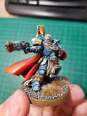 Warhammer 40 000 Space Marines Primaris Captain Limited pro painted