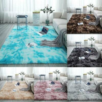 Fluffy Rugs Anti-Skid Shaggy Area Rug Living Room Carpet Floor Soft Mat Bedroom