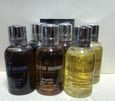 Molton Brown Shower Gel & Body Wash Collection Gift Set 6x 50ml