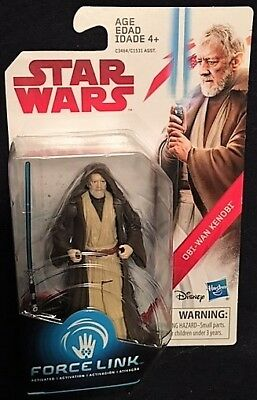 1/18 Scale Obi-Wan Kenobi Star Wars Force Link Collectible Action Figure