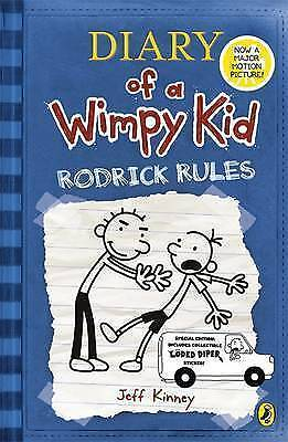 Diary of a Wimpy Kid: Rodrick Rules by Jeff Kinney (Paperback, 2009)