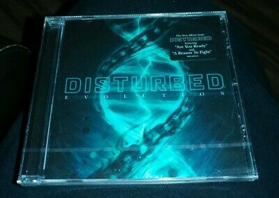 DISTURBED Evolution 2018 Brand New / Sealed CD - Are You Ready