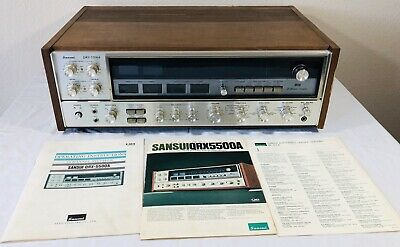 Vintage Sansui QRX-5500A 4 Channel Quadrophonic Receiver Read, Watch Video