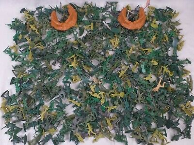 Vintage Toy Soldiers, World War II, Mixed Lot of 400+