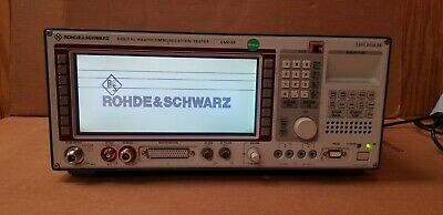 Rohde & Schwarz CMD59 Digital RadioCommunications Tester Many Options GOOD!