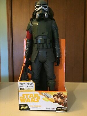 Star Wars Solo: BIG-FIGS Mud Trooper Action Figure, 18 Inch New On Card 2017