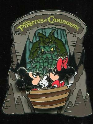 Pirates of the Caribbean Mickey and Minnie Mouse Davy Jones Disney Pin 78586
