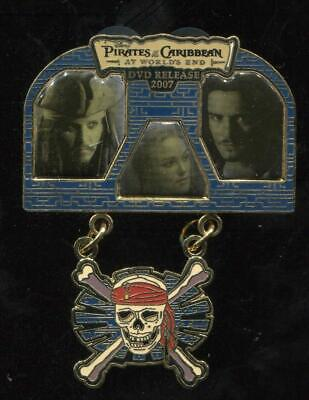 Pirates of the Caribbean At World's End 2007 DVD Release LE Disney Pin 57844
