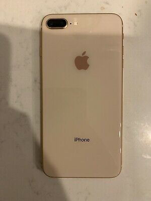 Apple iPhone 8 Plus - 256GB - Gold (Unlocked) A1897 Great Condition