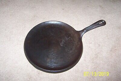 "Nice WAGNER'S 1891 Original CAST IRON COOKWARE 10 1/4"" GRIDDLE Made in U.S.A."