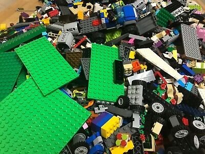 Huge Lego Lot! 5 Pound Lots of Legos with Mini-figures, Star Wars, City, ect