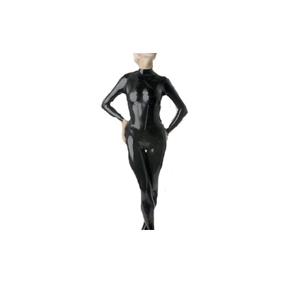 Hot Sale Latex Catsuit Latexanzug Schwarz Kostüm 100% Rubber Gummi Fixed Size XL