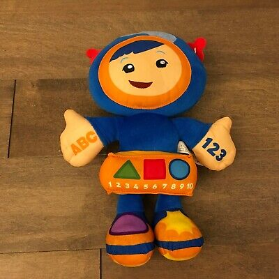 Fisher Price Team Umizoomi 12 Learning Adventure Talking