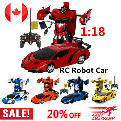 Toys for Kids Transformer RC Robot Car 2 IN1 Remote Radio Control Cool Xmas Gift