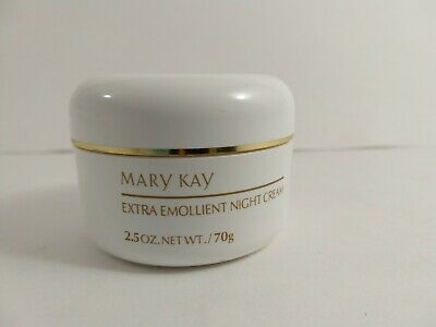 """Mary Kay Extra Emollient Night Cream """"The Pink Stuff"""" 2.5 oz NOS"""