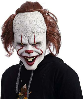 NUWIND Pennywise Masque Latex de Clown Effrayant Costume pour Cosplay,...