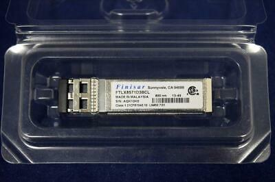 FTLX8571D3BCL Finisar 10Gb 850nm SFP+ 10GBASE-SR/SW Ethernet Transceiver Module