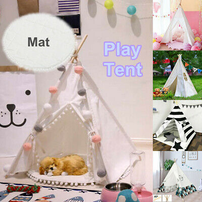 Portable Kids Pet Tents Children Home Teepee Sleeping Dome Game Toy Play