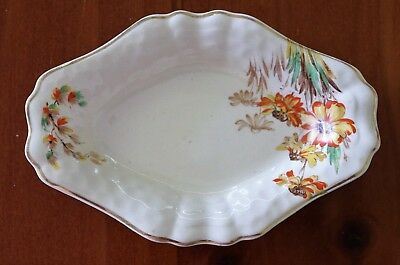 """J & G Meakin Diamond Shaped Bowl"" , C1940 , Excellent Aged Condition !"