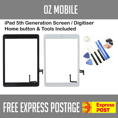 Digitizer Touch Screen Glass Replacement For iPad 5 5th Generation